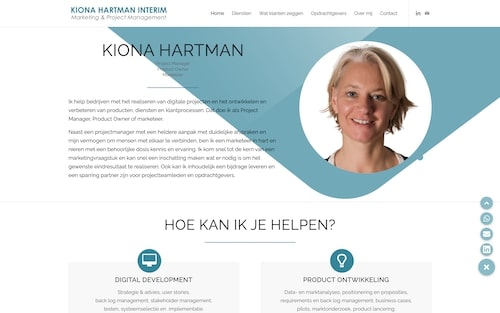 Kiona Hartman Interim | Coach4Website